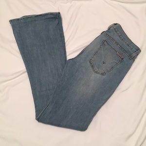 Hudson Angel Flare Light Wash Jeans size 26